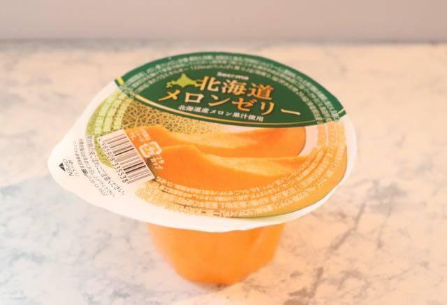 北海道メロンゼリー セイコーマート