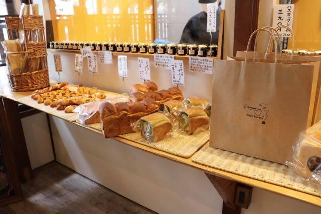 チェットベーカリーおもや パンの種類