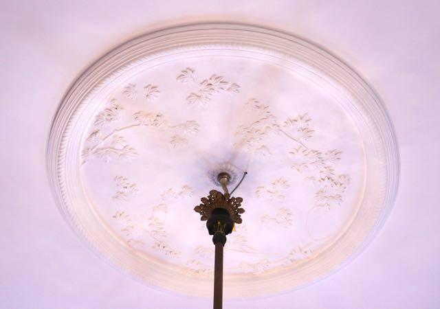 豊平館 天井装飾