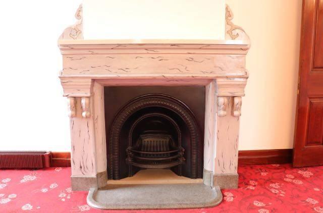 豊平館 暖炉
