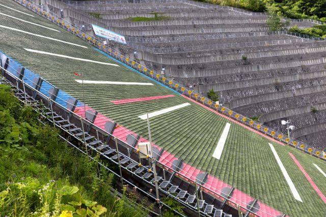 大倉山展望台 ジャンプ台