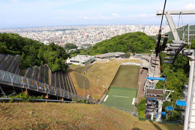 大倉山展望台 リフト