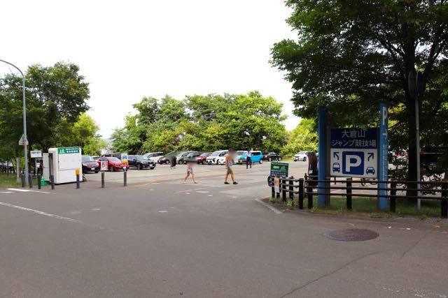 大倉山展望台 駐車場