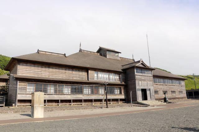 道の駅おびら鰊番屋 旧花田家番屋