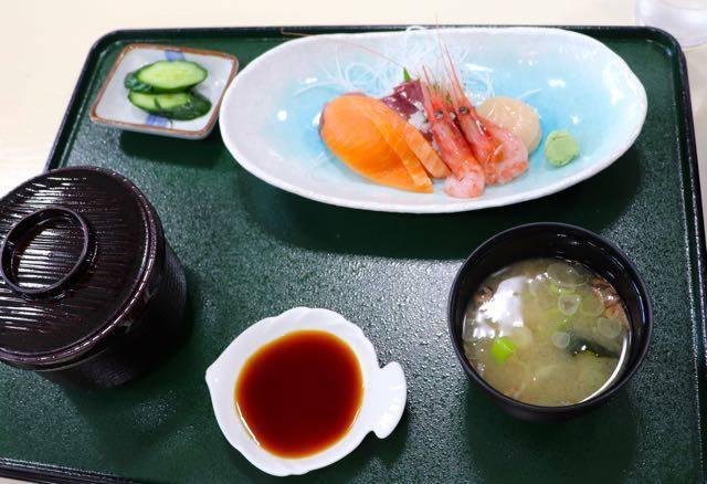 道の駅レストラン 風夢 刺身定食