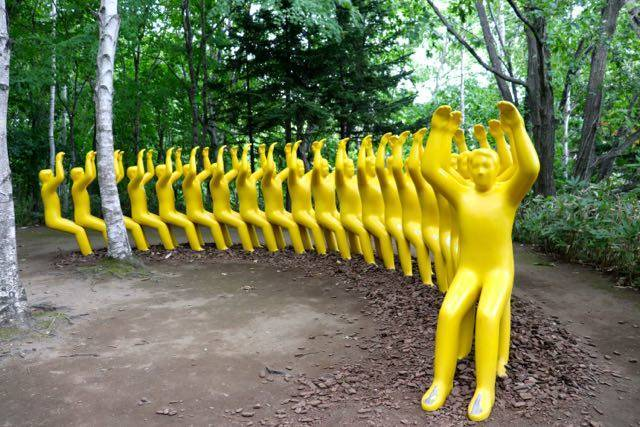 札幌芸術の森野外美術館 芸術作品