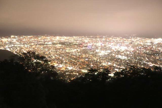 藻岩山展望台 夜景