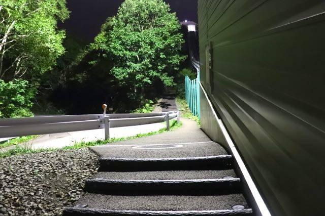 藻岩山 自然観察道 登山道