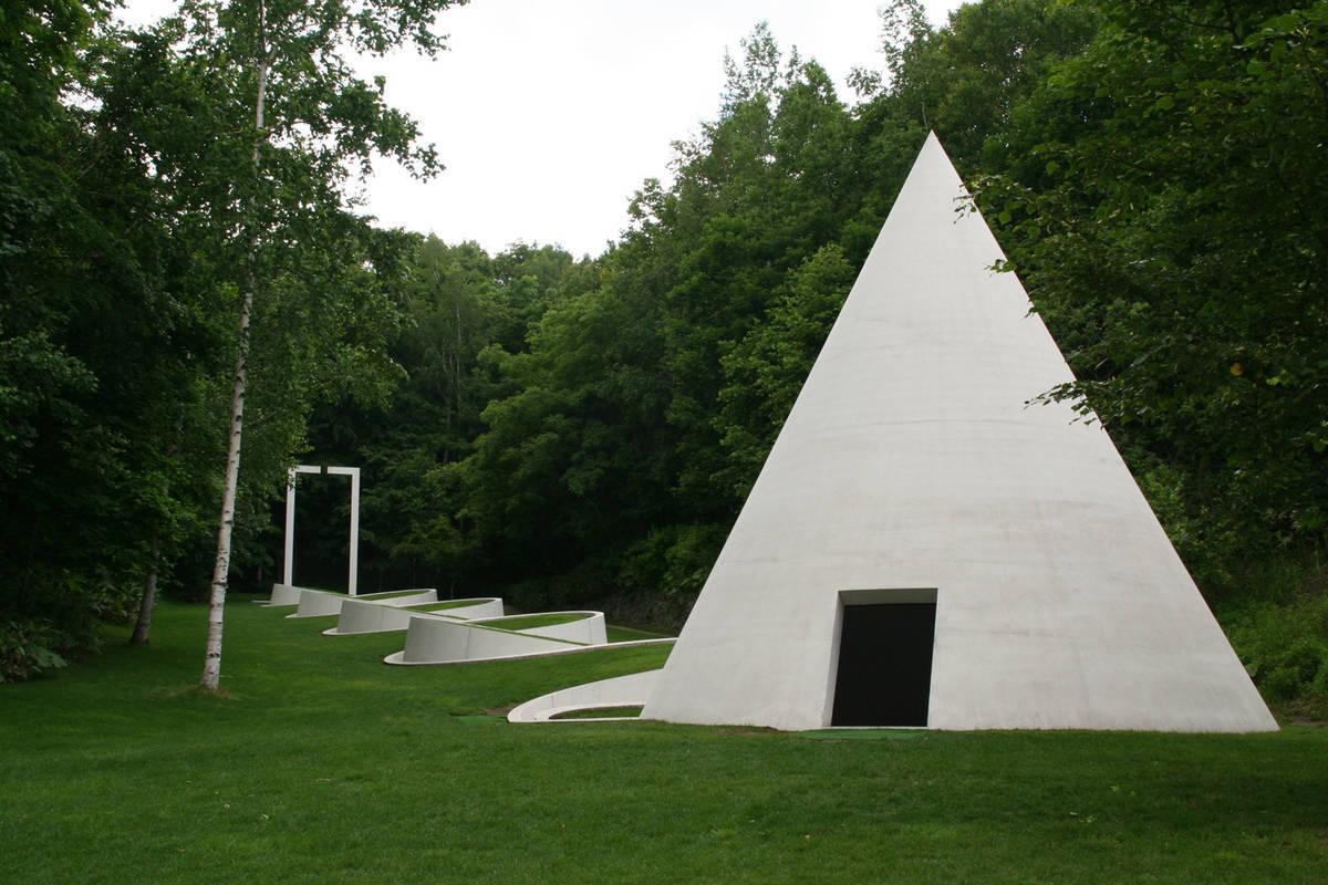 野外美術館 隠された庭への道