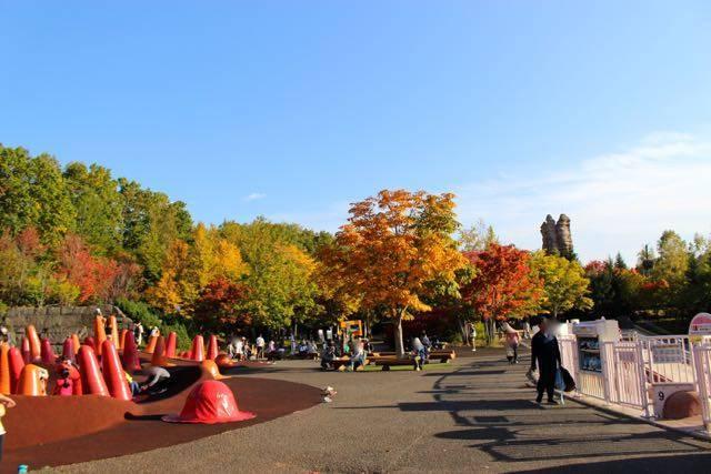 滝野すずらん公園 紅葉