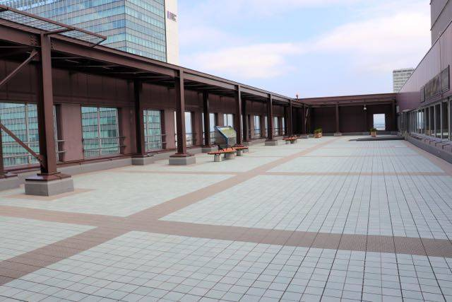 札幌市役所 北側展望回廊