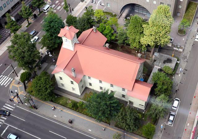 札幌市役所 展望回廊 眺望
