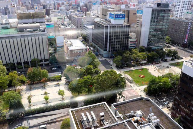 札幌市役所展望回廊 眺望