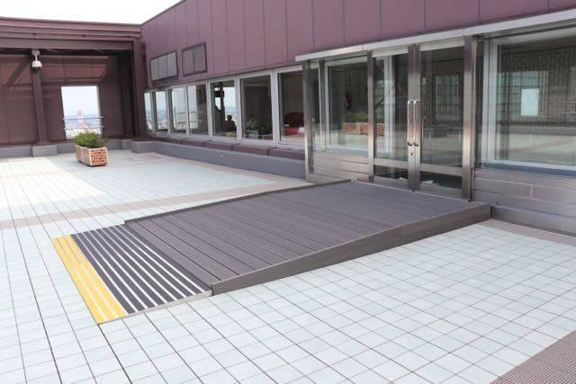 札幌市役所展望回廊 バリアフリー