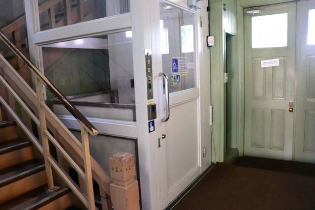 札幌時計台 エレベーター