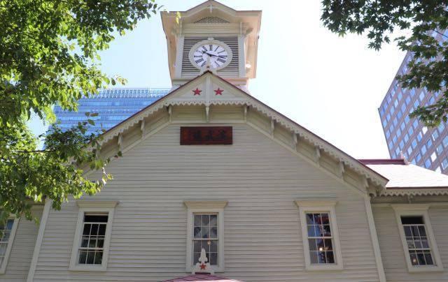 札幌時計台 五稜星