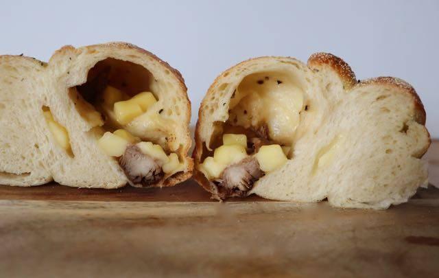 アズィーベーグル 照り焼きチキンチーズベーグル