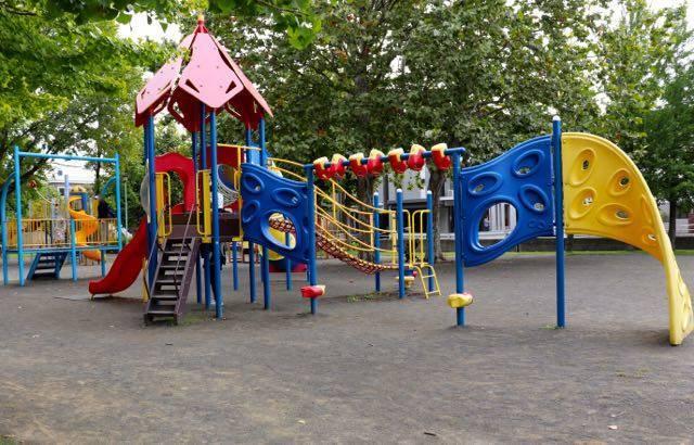東白石冒険公園 遊具