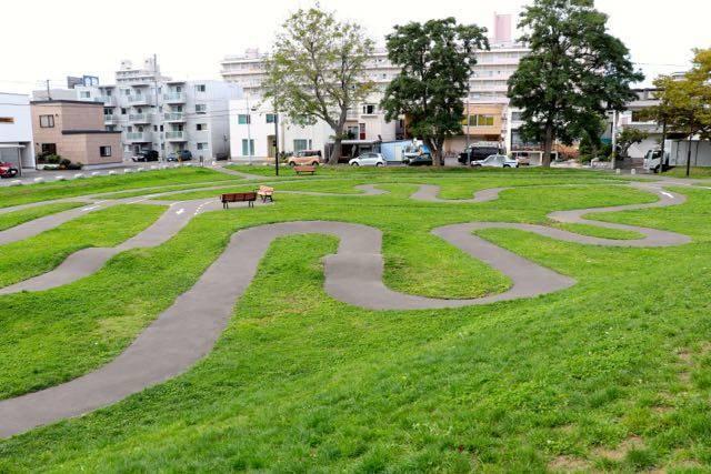 自転車公園 札幌