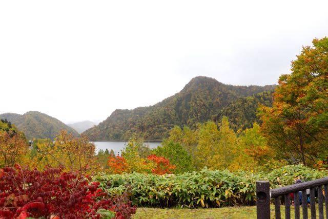 さっぽろ湖 紅葉