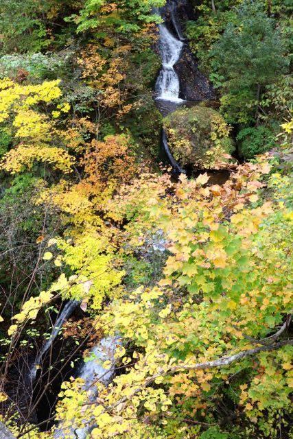 豊平峡ダム 九段の滝
