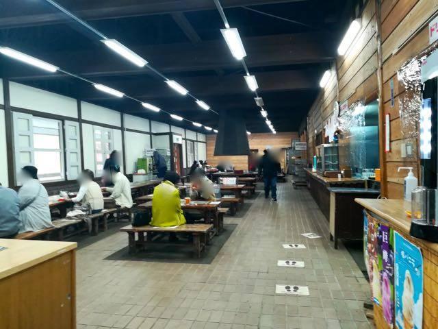 豊平峡ダム 絶景レストラン