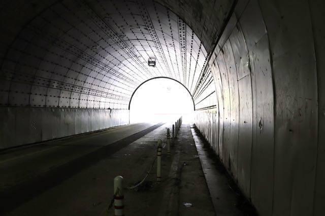 豊平峡ダム トンネル