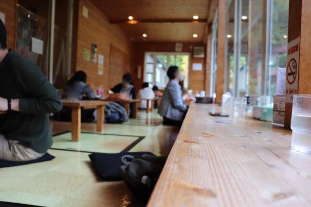 豊平峡温泉 ざぶとん席 レストラン