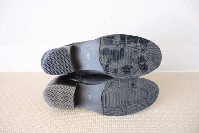 冬靴張り替え前