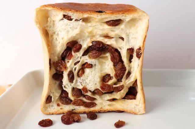 ルミトロン レーズン食パン