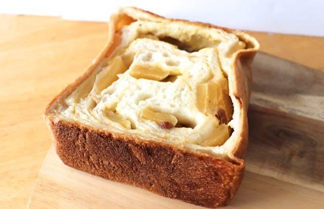 ルミトロン シナモンアップル食パン