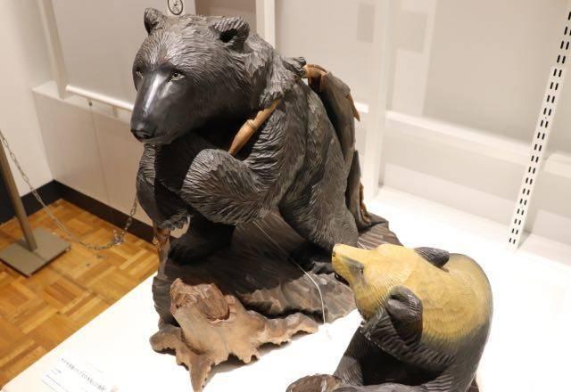 北海道博物館 木彫りの熊