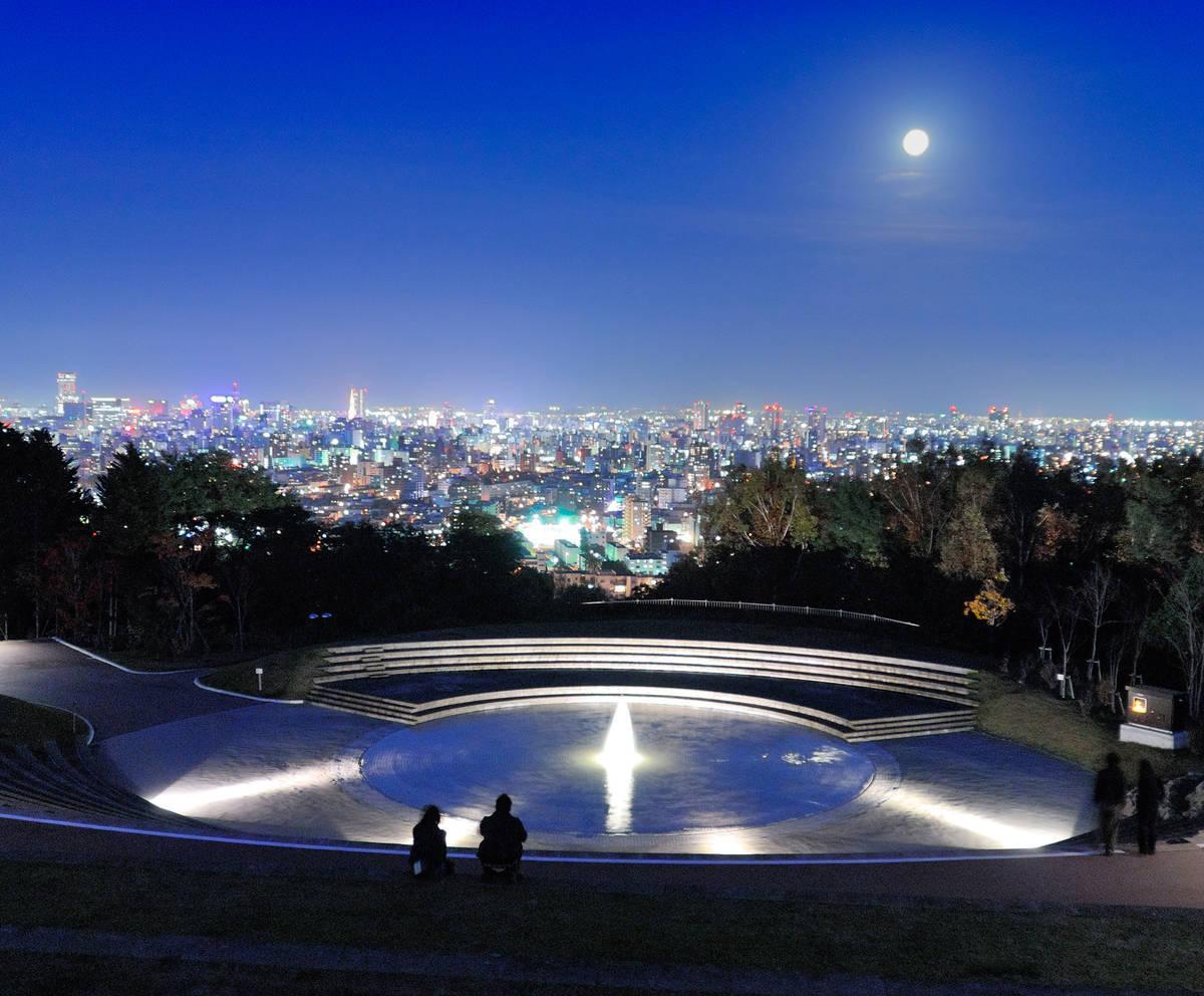 旭山記念公園 夜景