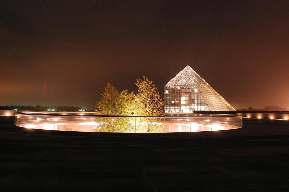 モエレ沼公園 夜景