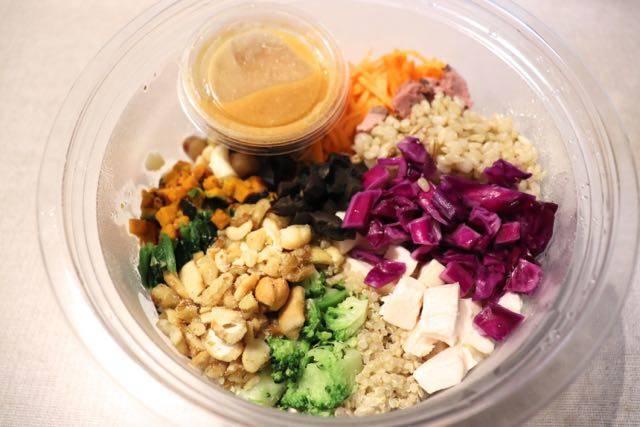 プロテインボウル protein bowl サラダ