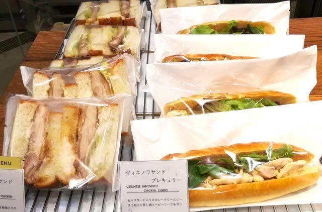 ブールアンジュ サンドイッチ