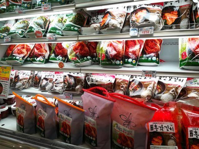 yes mart札幌店 キムチ