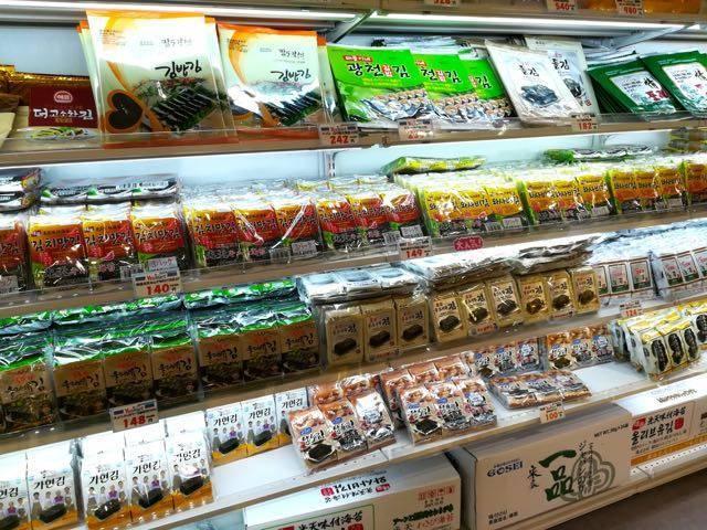 yes mart 札幌店 韓国海苔