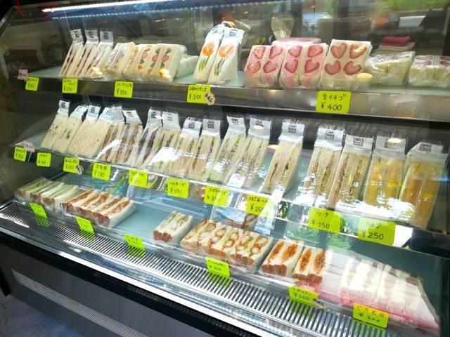 サンドイッチひまわり 店内