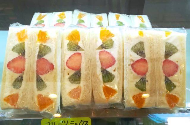 サンドイッチひまわり フルーツサンド