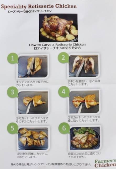 ファーマーズチキン 札幌山鼻店 ロティサリーチキン