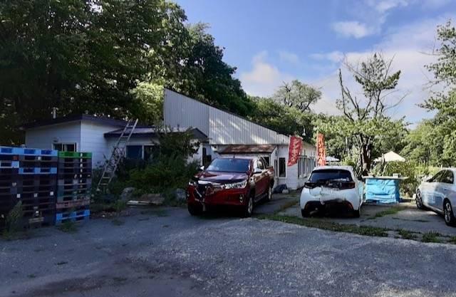 アオヤマ園 釣り堀 駐車場