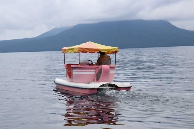 支笏湖ポロピナイ ペダルボート