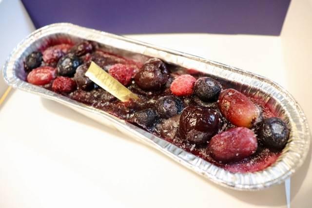 みれい菓STORE! 葡萄とベリーのカタラーナ