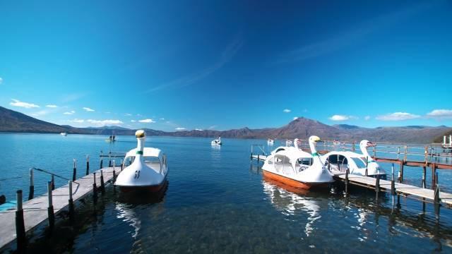 支笏湖ペダルボート