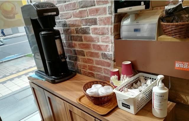ハートブレッドアンティーク コーヒーテイクアウト