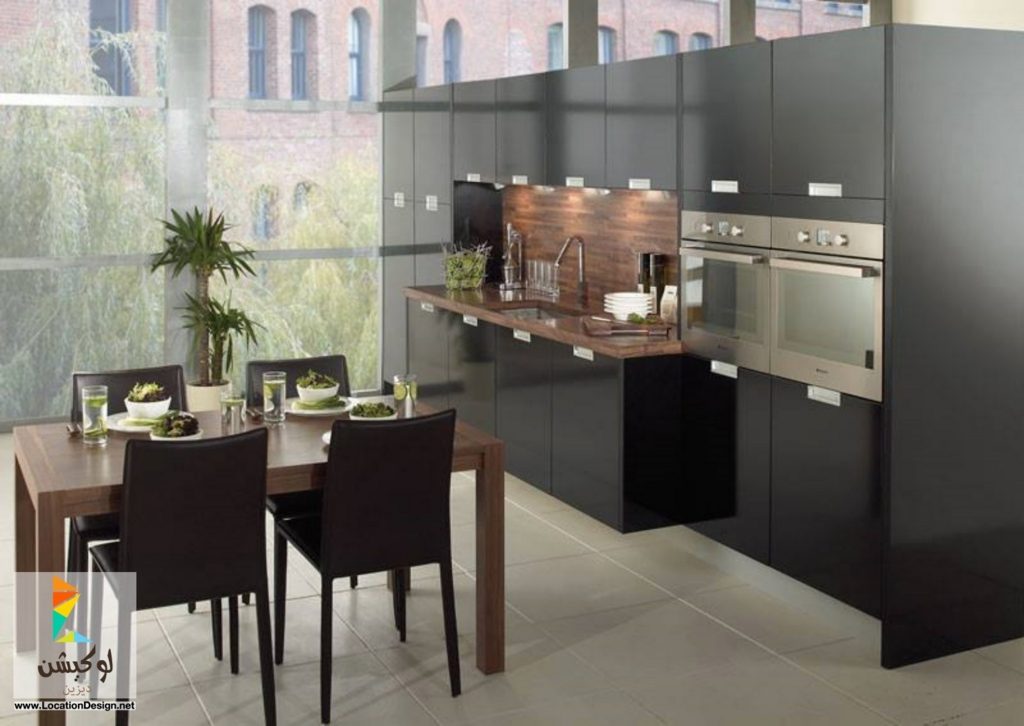 for Black gloss kitchen ideas
