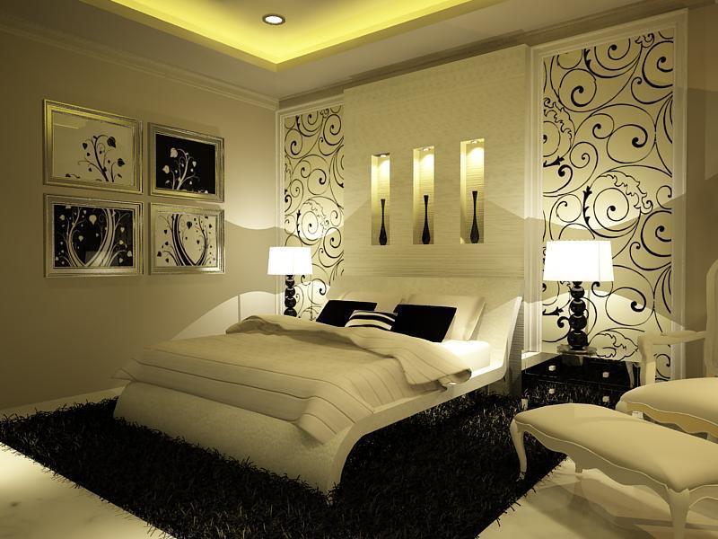 أجمل ديكور لغرف النوم   bedroom's blog