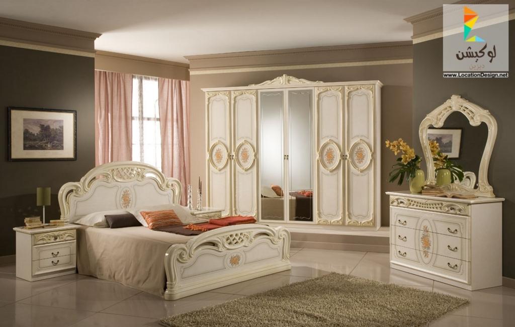الوان غرف نوم للعرسان   bedroom's blog