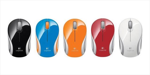 カラーが豊富な小型ワイヤレスマウス